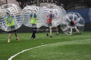 Funtoys CE inflatable ball suit,bubble ball suit,inflatable pvc ball suits
