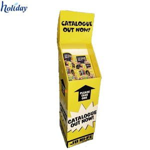 Promotion ocean spray display rack with ad , cardboard display standee for ocean spray