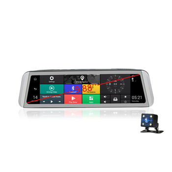 9.88 inch 4G Android Bluetooth Dash cam GPS navigation