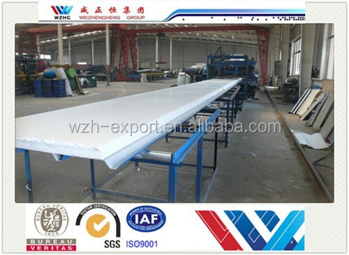 Free samples sandwich panel plate surface eps sandwich panel,waterproof garage wall covering panels