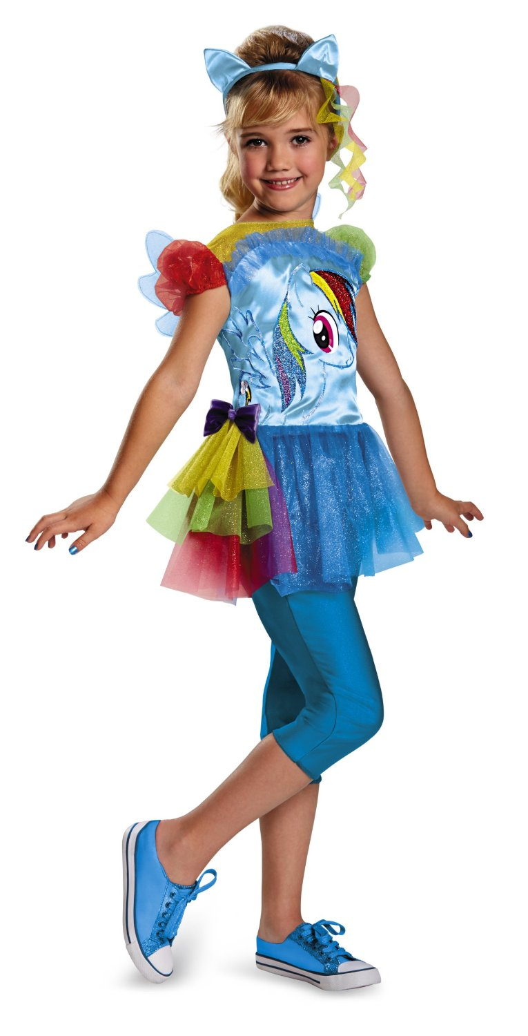 Get Quotations · Disguise Hasbrou0027s My Little Pony Rainbow Dash Classic Girls Costume ...  sc 1 st  Alibaba & Cheap Girls Rainbow Costume find Girls Rainbow Costume deals on ...