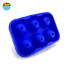 Novelty round ball easy release shaped non plastic large wholesale make your own custom personalized silicone ice cube tray mold