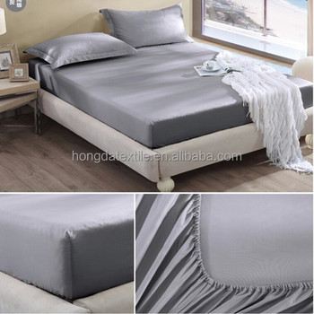 China Supplier 100% Cotton Disposable Elastic Fitted Sheet Set Fitted Bed  Sheets Set