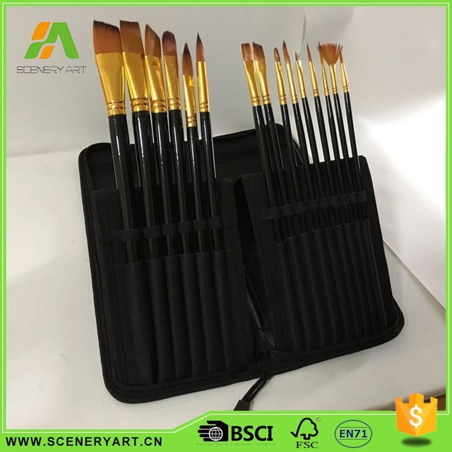 wall paint art brush set