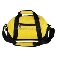 "14"" Small Duffle Bag Two Toned Gym Travel Bag"