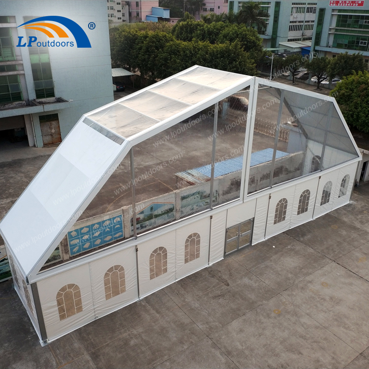 Outdoor Ice Skating Sports Building Polygon Marquee Tent
