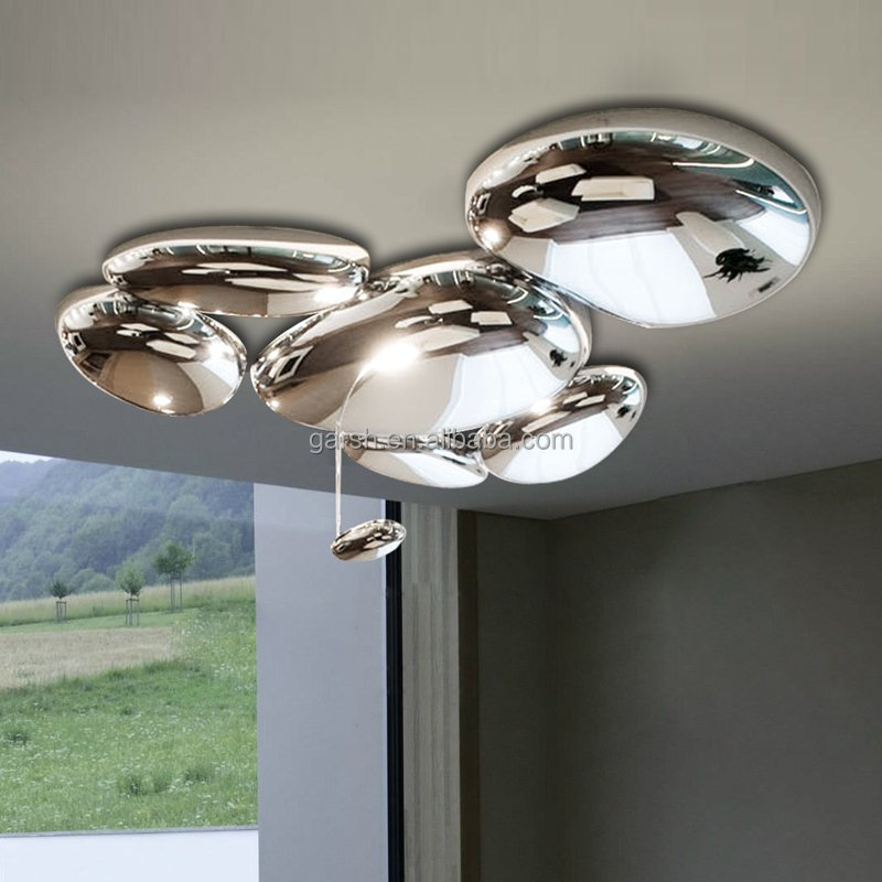 moderne skydro plafond lampe chrome designer plafonnier de luxe lustre id de produit 1961935577. Black Bedroom Furniture Sets. Home Design Ideas