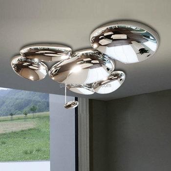 Modern Skydro Ceiling Lamp Chrome Designer Ceiling Light Luxury ...