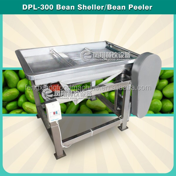 Supermarket Bean Skin Removal Shelling Machine / Bean Peeling Machine