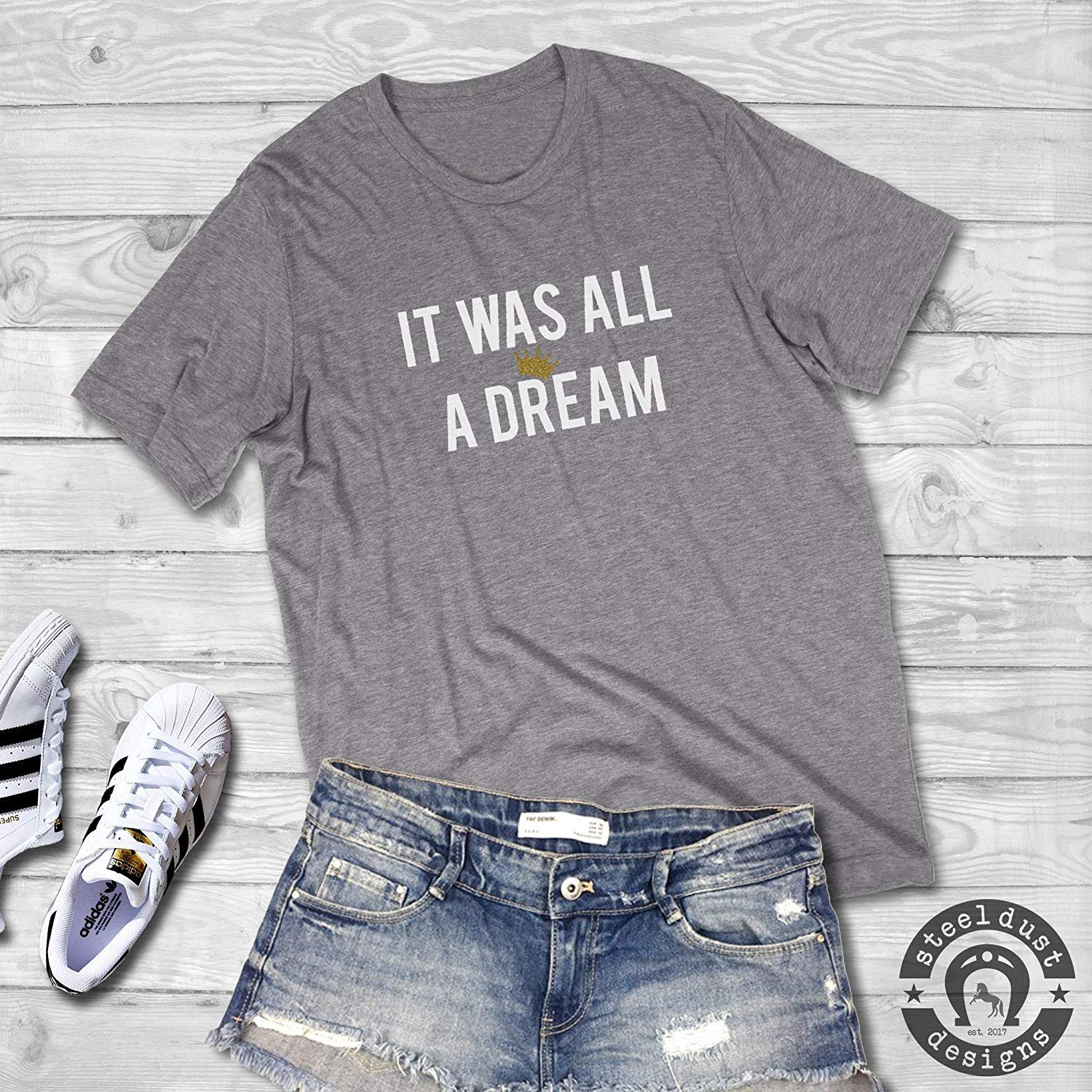 f9ac196f0c3 Get Quotations · It Was All a Dream Shirt