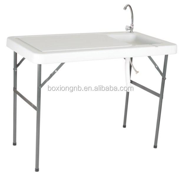 outdoor sp le tisch jagd sp le tisch tisch mit waschbecken klapptisch produkt id 60079954460. Black Bedroom Furniture Sets. Home Design Ideas