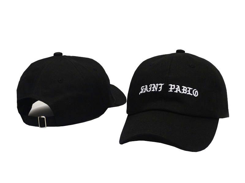 Saint Pablo Cap Kanye West 2017 Brand Dad Hat Funny Hat Leisure Cool ... e49b8b8cf3a