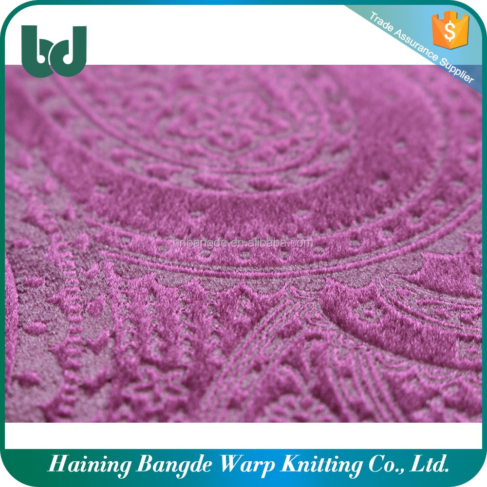 Factory direct poly knit pvc coated polyester fabricfor garment