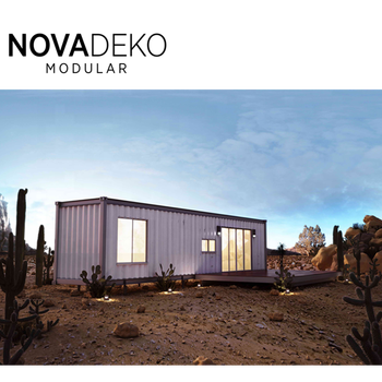 Manufactured Small Modern Portable Temporary Housing Pod Expandable 40 Ft Luxury Modular Homes