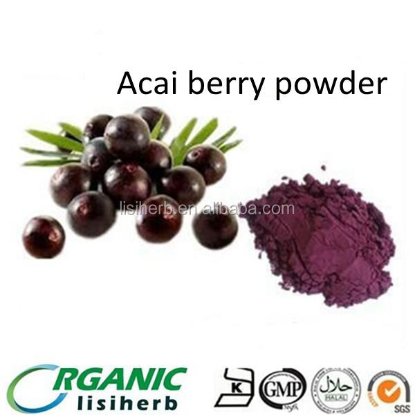 Natural Acai berry extract powder wholesale with competitive price