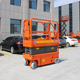 Mobile Hydraulic Man Lift Small Electric Scissor Lift For Painting