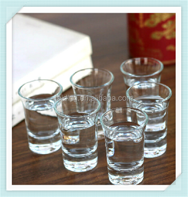 Mini bullet shot glass bar use tequila shot glass 1oz shot glass wholesale