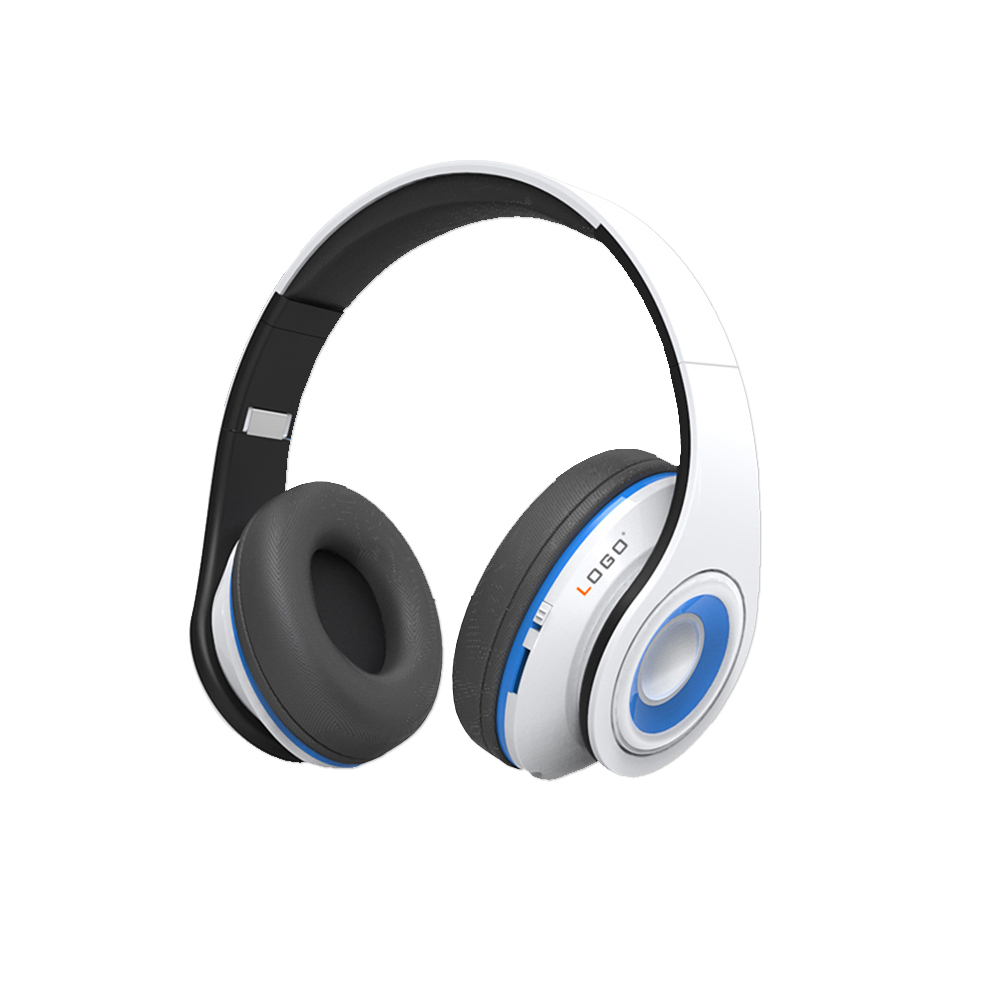 Bluetooth Headphones On Ear, Wireless Headset Foldable with Mic, Wired and Wireless Headphones for Cell Phone/ TV/ PC