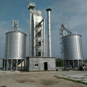 Steel structure 100T-1000T corn storage silo
