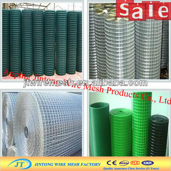 JT on stock PVC Coated Holland Wire Mesh Fencing panels(Manufacturer)