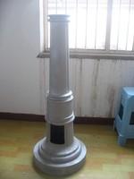 Cast aluminum light pole accessories, lamp accessories, lamp post base