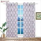 China supplier polyester embroidered sheer curtain turkey