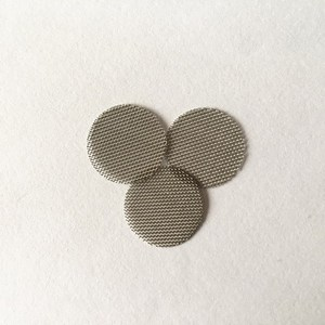 40*0.19mm 24mm 304 Stainless Steel Round Shape Metal Filter Screen Fit For Loudspeaker Dust-proof