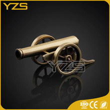 factory custom Promotion gift decoration use metal military cannon model