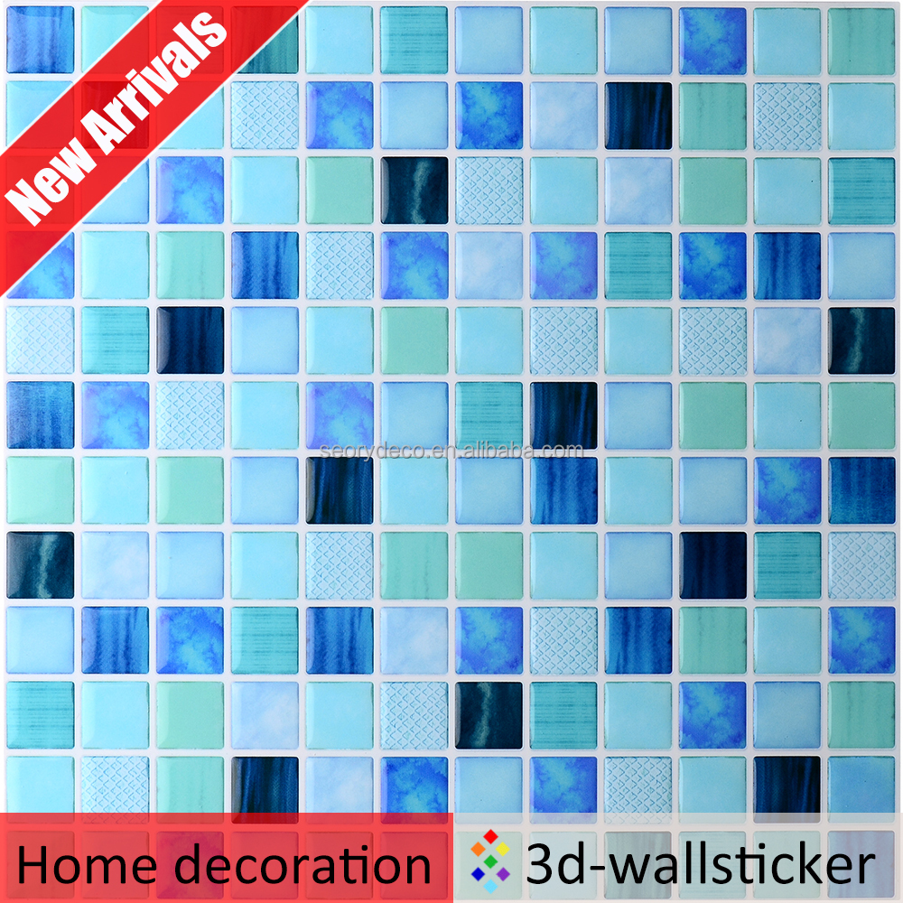 Wall Board Vinyl Wall Panel Laminate Glass Pebble Mosaic Tile - Buy ...