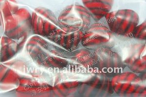 4g heart shaped scented bath oil beads