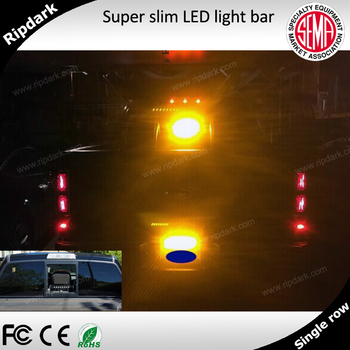 Blue red amber green 12v 24v with harness emergency police cree blue red amber green 12v 24v with harness emergency police cree led flashing light bar for aloadofball Image collections