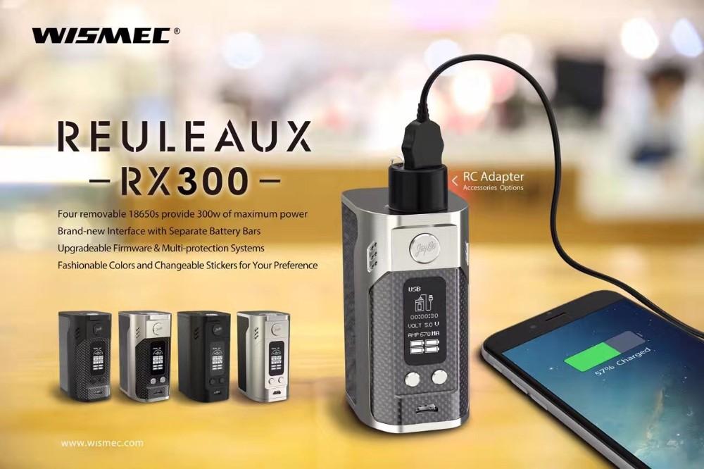 Philippine Mod Vape Wismec Reuleaux Rx300 Mechanical Mod