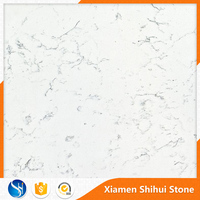 White quartz Slab look like carrara marble