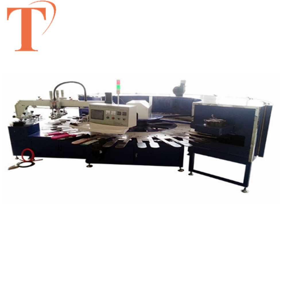 Rotary Screen Printing Machine Printing for socks with uv dryer
