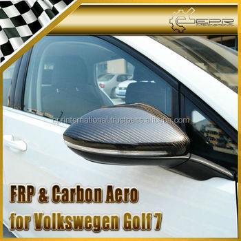 For VW Volkswagon Golf 7 Carbon Fiber Mirror Cover (Replacement Type)