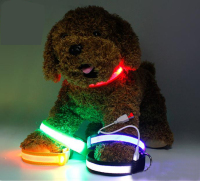 New Design Pet Products High Quality USB charge led collar