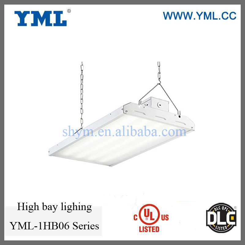 UL DLC approved 110W LED liner High Bay Lighing 5 years warranty 2 feet high bay