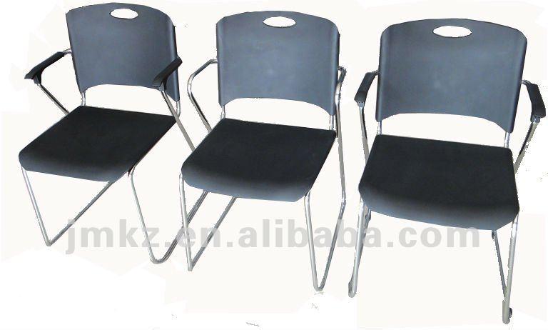 La alta calidad de apilamiento sillas de oficina sin - Silla oficina sin ruedas ...