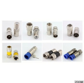 good quality new product hot goods compression Newest durable in use waterproof F coaxial connector