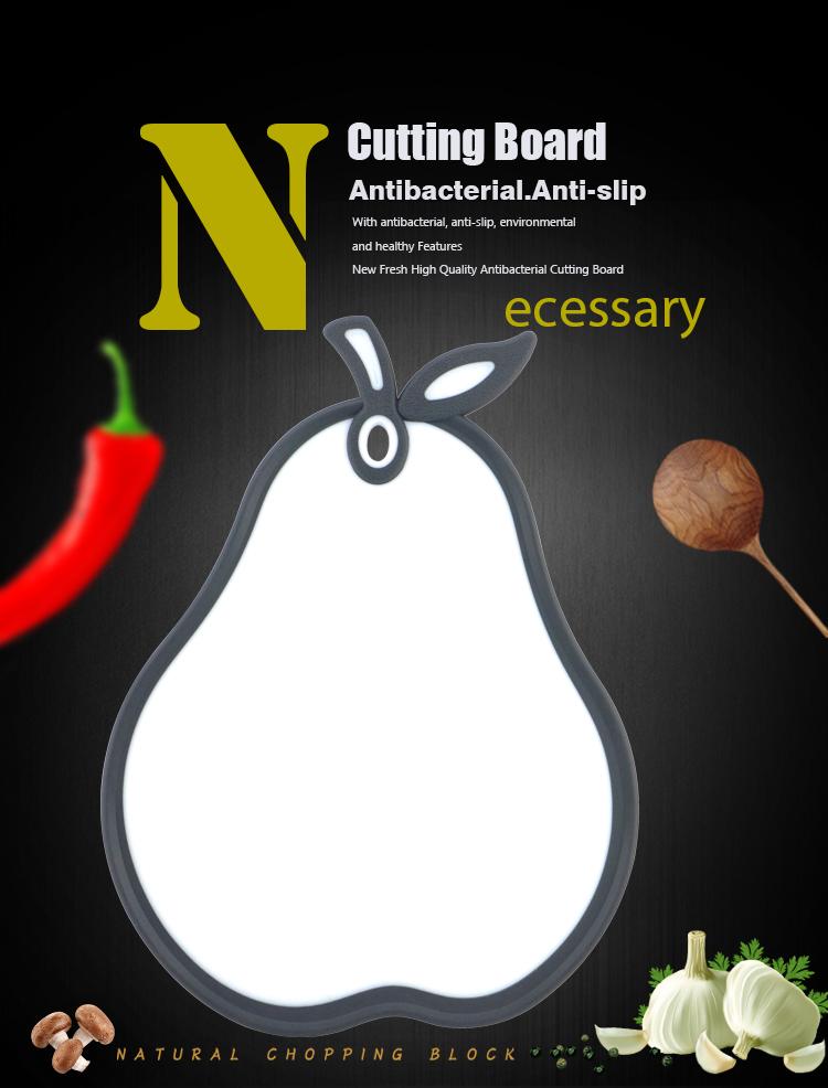 New Pear Shape Plastic Cutting Board