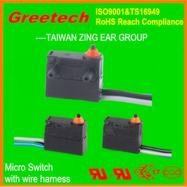 Zing earmicro switch 5a 250v t85, 10a 250v ac kw3 oz micro switch