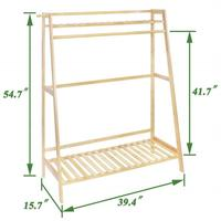 Reliable and Cheap wooden flower display stand hanging plants rack