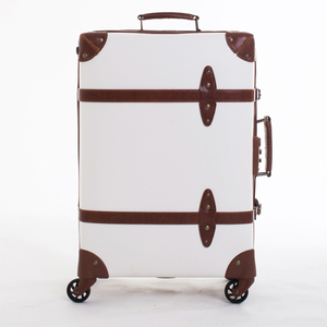 Elegant Custom Vintage Suitcase luggage for women