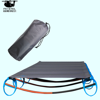 Ultralight Folding Camping Cot Beach Bed With Carry Bag Home Office