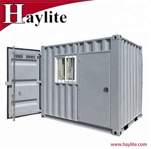 Steel storage box home used container houses luxury with furnitures 10ft -20ft