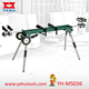 Portable electric motor for circular saw stand, Mobile mitre saw stand, Universal work stand