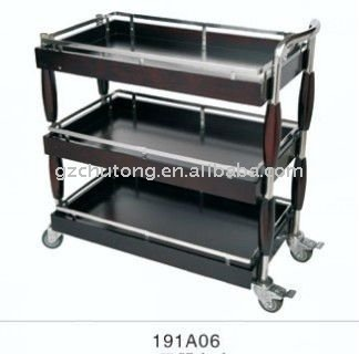 Newest design hotel guest room service cart buy guest for Hotel room service cart
