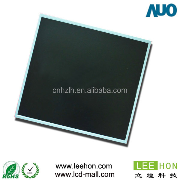 AUO MVA industrial 19 inch tft lcd panel with full view angle G190EG02 V1