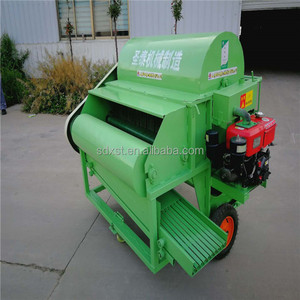 Mini soybean harvester/supply good quality soybean harvesting machine/Soya pea pod picking machine