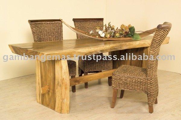 Mesa rustica tronco - Mesas de troncos de madera ...
